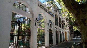 La sede de la Asociación Familia Abruzzesa, en Santiago al 1300.