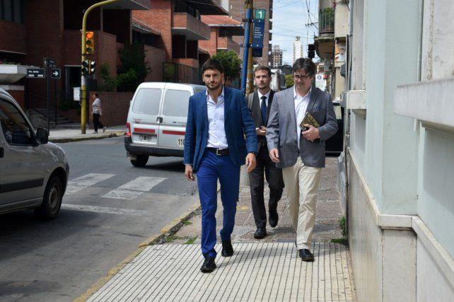 El ministro presenció la audiencia imputativa al fiscal Roberto Apullán.