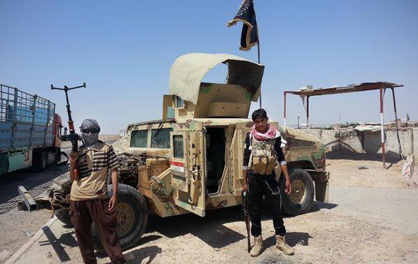 Tropas del EI al norte de Bagdad