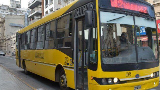 Según el municipio, mañana habrá transporte en Rosario