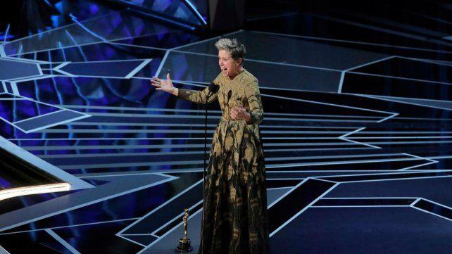 El emotivo discurso de Frances McDormand dedicado a las mujeres