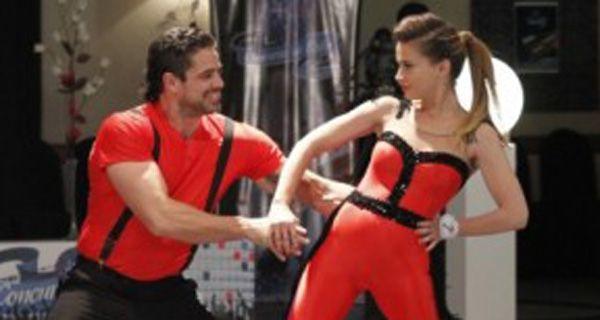 Celeste Cid y Luciano Castro la rompieron en la pista de baile