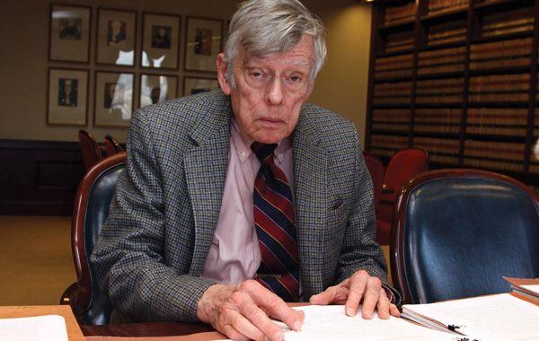 El magistrado encabezó esta tarde la reunión que se realizó en su despacho en Nueva York por algo más 90 minutos.