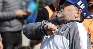Maradona envió su mensaje de apoyo a Los Pumas