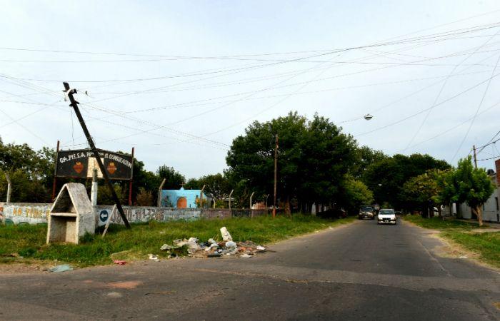 El chico fue atacado en Cerrito y Servado Bayo por otro joven que ya fue identificado. (Foto: Celina Mutti Lovera / La Capital)