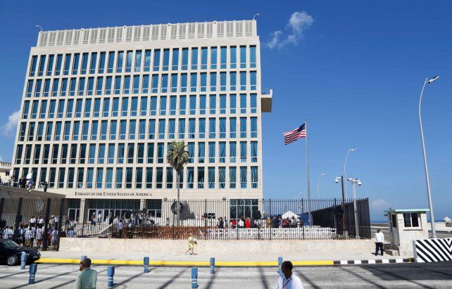 La embajada de Estados Unidos en Cuba