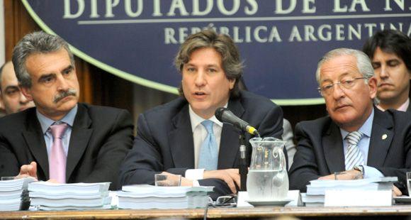 Boudou dijo en el Congreso que el sistema finaciero argentino es sano y fuerte