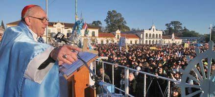 Bergoglio en Luján: El pueblo necesita aprender a escuchar y ser escuchado