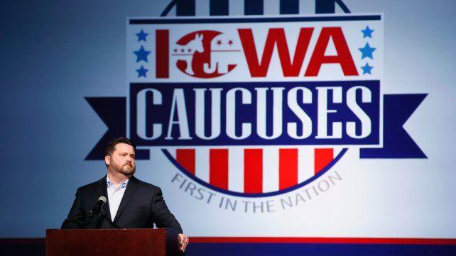 Trata de explicar. El titular del Partido Demócrata de Iowa