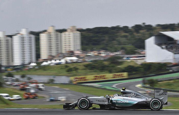 Rosberg terminó primero y los tres terminaron por repetir la parrilla de largada: Hamilton