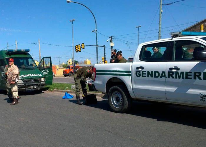 El gendarme se retiraba del destacamento donde había cumplido con su jornada laboral (Foto Archivo)