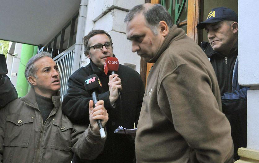 Único imputado. Jorge Mangeri