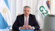 Alberto Fernández participó de la reunión de líderes del Grupo de los 20 (G20).