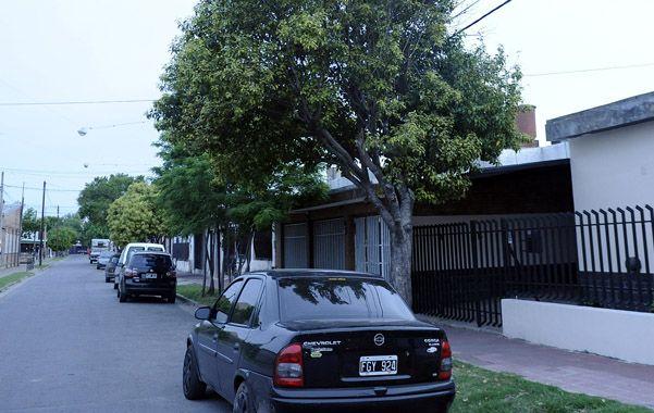 Tras las rejas. La casa de Copahue al 6300 visitada por maleantes.