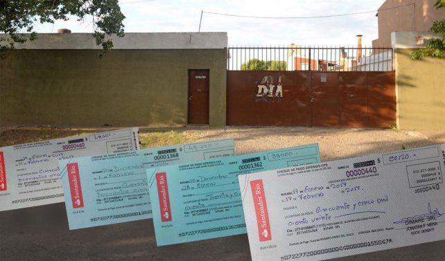 A las víctimas de la estafa de la empresa fantasma Dimare SRL les pagaron con cheques sin fondos.