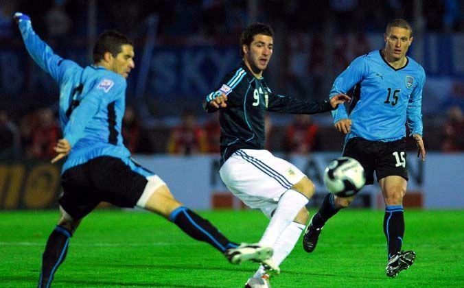 Argentina le ganó 1 a 0 a Uruguay y sacó pasaje directo al Mundial