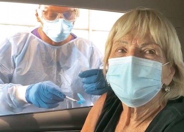 Habló la mamá de Yanina Latorre: Me vacuné, pese a quien le pese