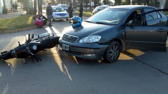 Casilda: presentaron un detallado trabajo estadístico sobre accidentes de tránsito