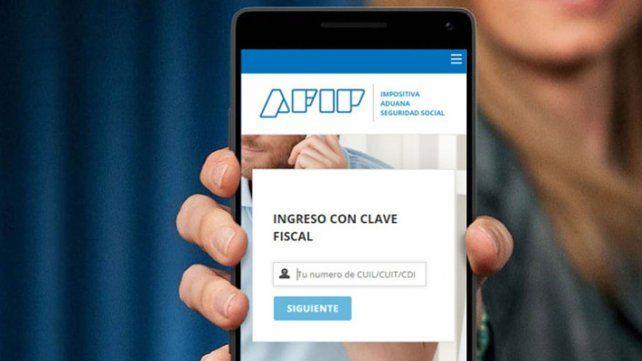 Desde hoy se podrá obtener la clave fiscal de la Afip desde el celular