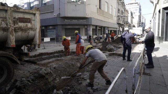 Los trabajos en Mitre y Córdoba demandarán al menos un mes.