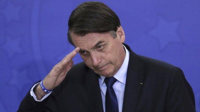 Venia. El presidente brasileño transmite una mala imagen y los ciudadanos se lo hicieron saber.