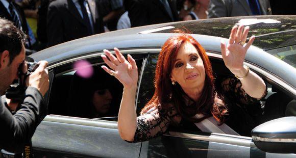Cristina permanece en El Calafate donde recibirá el nuevo año junto a su familia