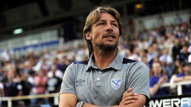 Presente en Vélez. Gabriel Heinze pregona un fútbol frontal y dinámico.