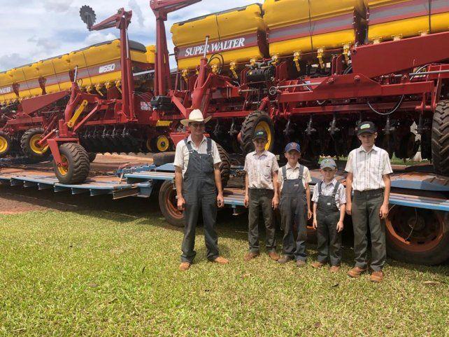 Súper Walter lidera el mercado de exportación de sembradoras