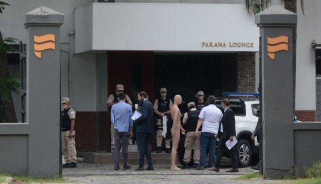El fiscal Patricio Saldutti articula los últimos pasos antes del inicio de la reconstrucción.