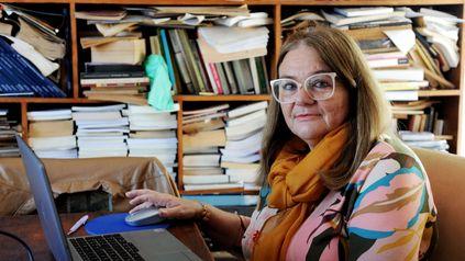 La titular de las cátedras criticadas en Ciencia Política por el uso de lenguaje inclusivo, María de los Angeles Dicapua.