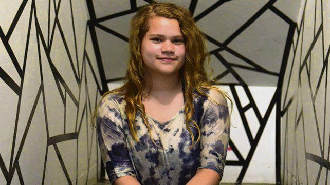 Victoria empezó este año un taller de escritura creativa en la Biblioteca Vigil.