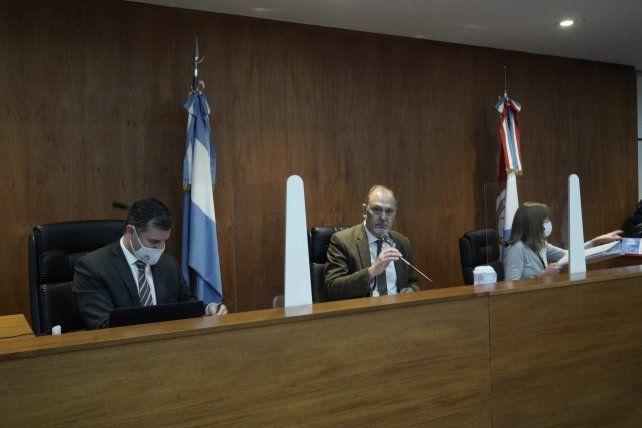 El tribunal está conformado por los jueces Rodolfo Zvala