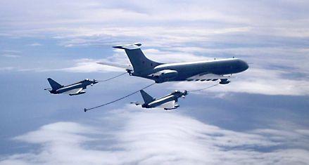 Tres aviones ingleses volaron sobre Tierra del Fuego y generaron alarma