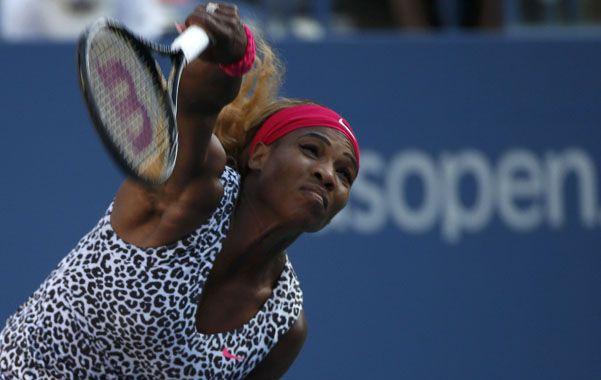 Serena Williams agrandó su leyenda ante Caroline Wozniacki.
