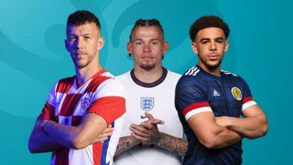 República Checa-Inglaterra juegan en Londres y Croacia-Escocia en Glasgow.