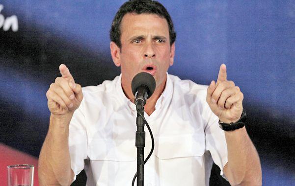 El máximo líder opositor insiste en que ganó las elecciones del pasado domingo 14 de abril.