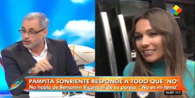 Pampita lo usó a Listorti para hablar de su hija Blanca, es más viva que el hambre, analizó Rial