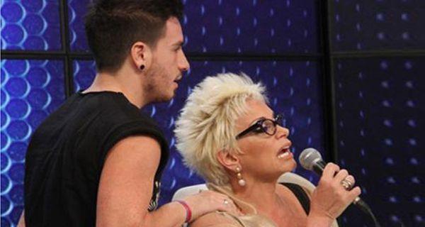 Carmen Barbieri y su hijo Federico, protagonistas de una agresiva pelea