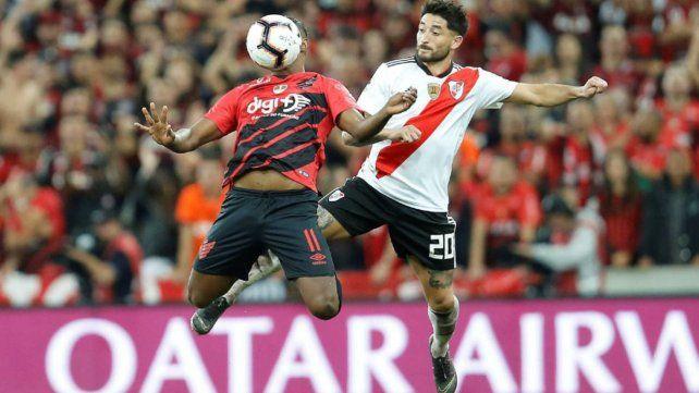 Libertadores: River pasó a cuartos tras vencer 1 a 0 a Paranaense, aunque le costó bastante