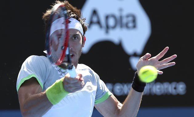 Mayer había vencido en primera ronda al australiano John Millman