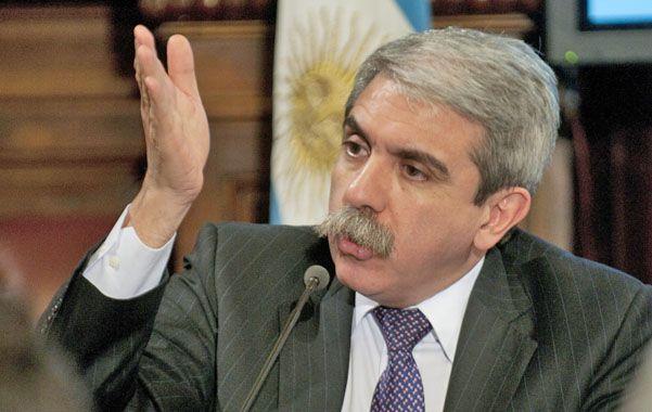 Crítico. El jefe de Gabinete definió a la alianza UCR-PRO como un experimento conservador y neoliberal.
