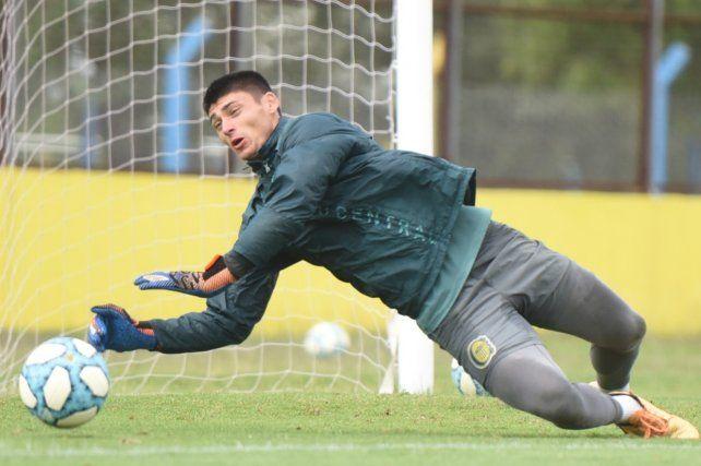 Romero se esfuerza en medio del entrenamiento.