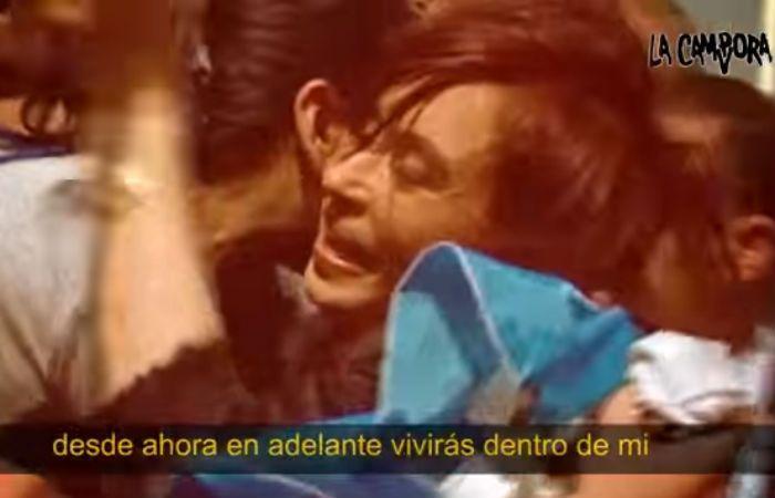 El video recorre diversos actos de Cristina Fernández y su relación con la gente.