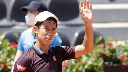 Kei Nishikori, la raqueta masculina N° 1 de su país es consciente de que no es momento de hacer las cosas a cualqueir precio.