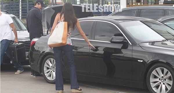 Sol Calabró y Tinelli en un nuevo viaje de amor por Mendoza