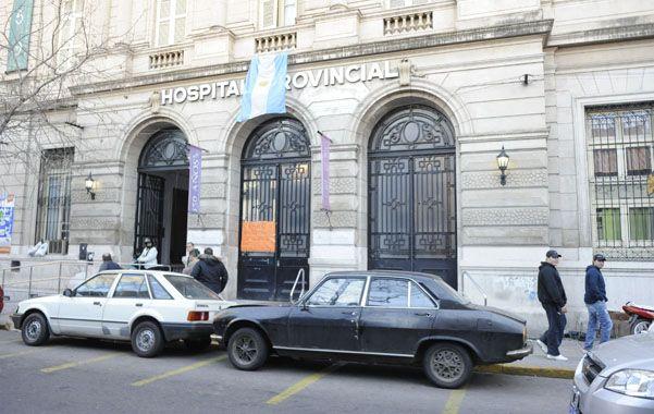 La víctima fue trasladada en primera instancia al hospital Anselmo Gamén