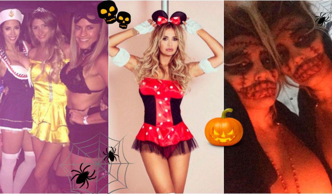 Las famosas que se vistieron de brujas sexys y calentaron Halloween