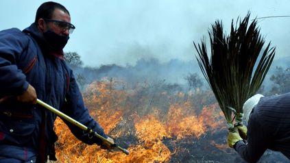 Ya son tres las víctimas fatales de los incendios forestales en Córdoba