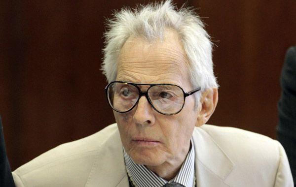 El millonario estadounidense Robert Durst fue arrestado en un hotel de Nueva Orleans.