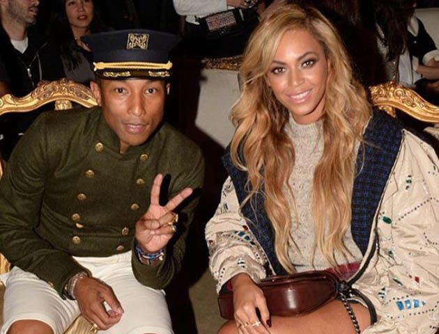Pharrell y Beyoncé